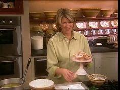 Martha Stewart bakes struvor, a Scandinavian rosette cookie which is a delicate cross between a doughnut and a cookie.
