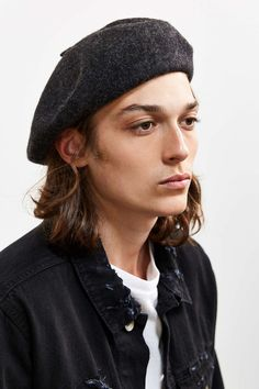 84eb2ef47c979 UO Classic Beret - Urban Outfitters Mens Beret Hat