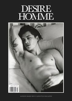 Der Stefashionist: Fashion, Passion & Models: Cover | Francisco Lachowski for Desire Homme Magazine #8