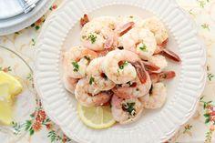Easy Shrimp Scampi - Harmons Blogger   One Sweet Appetite
