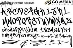 Cool Graffiti Fonts Sketches - Picture2