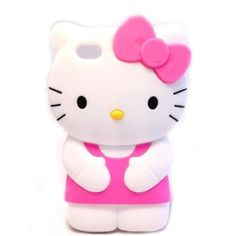 3 D Hello Kitty I Phone4 Case. Soft Silicon   #shopsmall BUY NOW $9.50