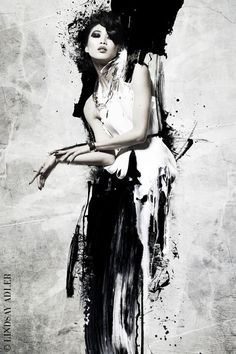 Painted Lady Fashion Editorial in Zink Magazine by Lindsay Adler