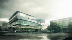 JUSSIEU – TWO LIBRARIES | Victor Galán | The Archviz blog | 3d architectural visualization blog