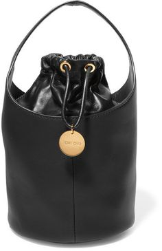 TOM FORD - Miranda Leather Bucket Bag - Black
