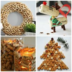 A un mois précis des fêtes de Noël, nous vous proposons 13 projets de bricolage de Noël facile et très amusant à réaliser à la maison en bouchon de liège !