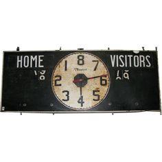Vintage Basketball Scoreboard