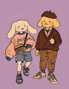 n e r v e /\ s p i k e — luxjii: Sanrio Squad Cute Art Styles, Cartoon Art Styles, Kunst Inspo, Art Inspo, Cartoon Kunst, Illustration, Wow Art, Sanrio Characters, Pretty Art
