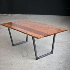Cherry Black Steel Coffee Table, $477, now featured on Fab.