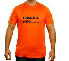 0876a7e3 Details about I NEED A HUG HUGE AMOUNT OF MONEY FUNNY T-SHIRT GREAT IDEA  BIRTHDAY GIFT PRESENT