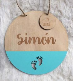 Carteles De Bienvenida Para Bebes - $ 450,00 Business Baby, Laser Cutter Projects, Laser Cut Jewelry, Wooden Art, Welcome Baby, Baby Born, Baby Decor, Baby Shower Favors, Baby Names