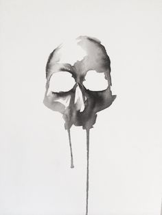 Morte Original Artwork by Lauren Macivor: http://skullappreciationsociety.com/morte-original-artwork/ via @skull_society