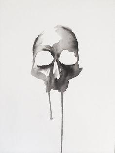 Morte Original Artwork by Lauren Macivor: http://skullappreciationsociety.com/morte-original-artwork/ via @skull_society