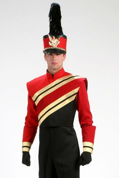 Style Uniform by The Band Hall Band Uniforms, Drumline, Costumes, Costume Ideas, Ronald Mcdonald, Marching Bands, Character, Style, Bands