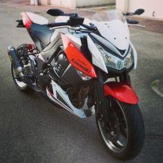 Kawasaki Z1000. #KawasakiBikes
