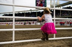 Dreaming of being a cowgirl at the Cowboy And Cowgirl, Get Up, Calgary, Rodeo, Photo Credit, Westerns, Ballet Skirt, Cowgirls, Cowboys