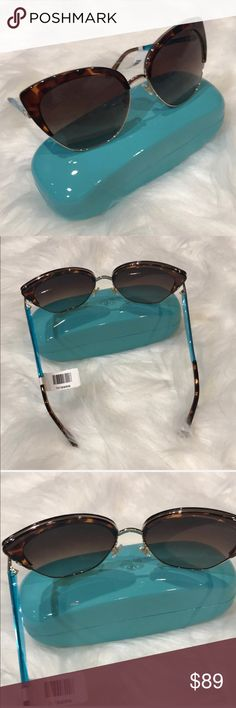 1532aa8bb8ae Shop Women s kate spade Brown Gold size OS Sunglasses at a discounted price  at Poshmark. Tortoise and gold color.