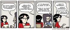 PHD comic: 'Dreference' applies to Genealogy Research Grad School Quotes, School Humor, Phd Comics, Literature Search, Phd Student, Genealogy Research, Stanford University, Academic Writing, True Stories