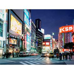 East Shinjuku Tokyo street free desktop background - free wallpaper... ❤ liked on Polyvore featuring backgrounds, pictures, city, images, places, filler and scenery