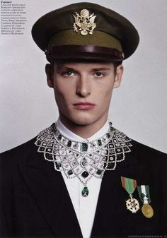 The Parure Citizen K International Editorial is Military-Inspired #menswear trendhunter.com