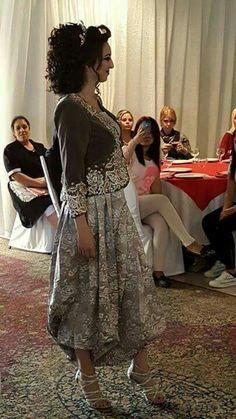 Karakou algérois moderne / karakou Algerian Traditionnel dress