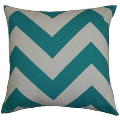 This zigzag throw pillow cover lends a playful twist to your interior. This striking accent pillow cover features a contemporary graphic print pattern in brown and natural hues. This modern accent tra