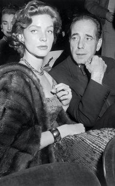 Lauren Bacall and Humphrey Bogart                                                                                                                                                                                 More