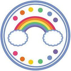 Rainbow Party Printables plus so many Rainbow Cartoon, Rainbow Art, Party Printables, Free Printables, Rainbow Parties, Little Pony Party, Kids Party Themes, Rainbow Birthday, Party Entertainment
