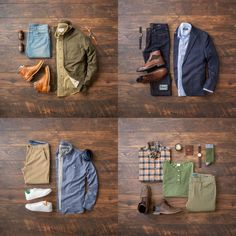 Time for the Saturday Recap, since it's been a couple of weeks. These were the top four outfits of the week and I need some help with deciding the top look. Which outfit is your favorite? Mens Fall Outfits, Mens Casual Dress Outfits, Men Dress, Mens Wardrobe Essentials, Men's Wardrobe, Mode Masculine, Business Casual Attire For Men, Mode Chic, Well Dressed Men