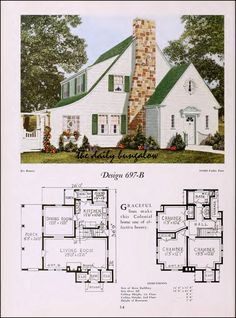 https://flic.kr/p/nUBjVW | 1920::National Plan Service | Modern Home of the Twenties Cover Home, with floor plan.