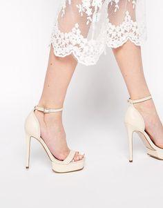 Image 1 ofASOS HEIRLOOM Heeled Sandals