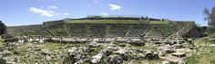 The theater at the Palazzolo Acreide archeological site