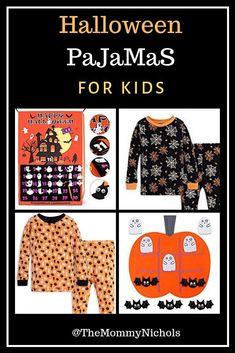 Shop these fun Halloween themed Pajama Sets for Fall! Halloween Themes, Fall Halloween, Halloween Pajamas, Kids Pajamas, Pj Sets, Working Moms, Baby Birthday, Toddler Crafts, Toddler Fashion