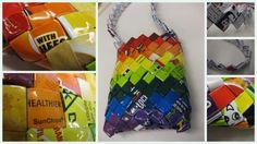 Chip Bag Purse Collage