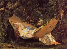 Gustave Courbet : Le hamac