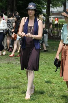They Are Wearing: Jazz Age Lawn Party on Governors Island