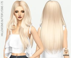 HALLOWSIMS BUTTERFLYSIMS 175: SOLIDS at Miss Paraply via Sims 4 Updates  Check more at http://sims4updates.net/hairstyles/hallowsims-butterflysims-175-solids-at-miss-paraply/
