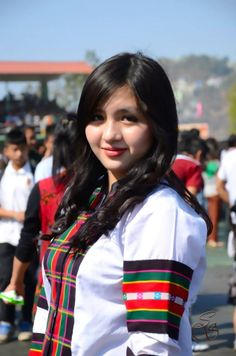 Mizo Girl Mizoram Northeast India India Beauty, Asian Beauty, Northeast India, We Are Festival, Western Outfits, College Girls, World Cultures, Indian Girls, Modern Fashion