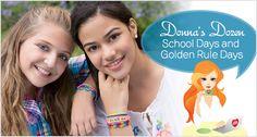 Donna's Dozen: School Days and Golden Rule Days