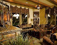 Tuscan design – Mediterranean Home Decor Luxury Interior Design, Interior Exterior, Tuscan Living Rooms, Tuscan Bathroom, Bathroom Wall, Fireplace Beam, Tuscan Furniture, Tuscan Style Homes, Devine Design