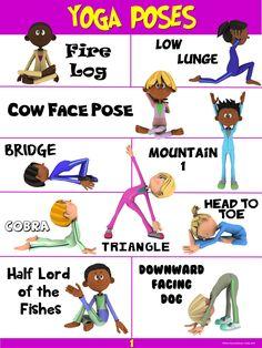 PE Poster: YOGA Poses #1