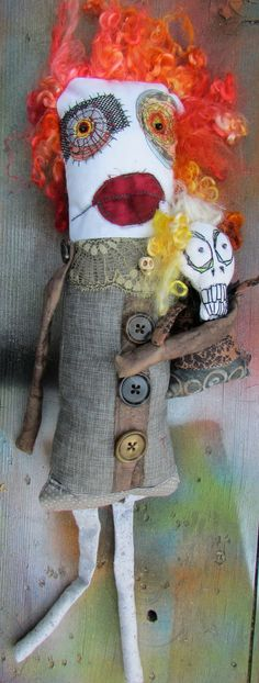 art doll by Monster Maud