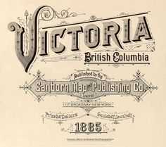 Victoria, British Columbia (Canada) 1885 axxfffffffffffff by peacay, via Flickr