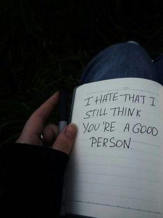 You aren't a good person. I hate YOU think you're a good person. The Words, Mood Quotes, Life Quotes, 90s Quotes, Sport Quotes, Happy Quotes, Qoutes, Quote Aesthetic, Aesthetic Grunge