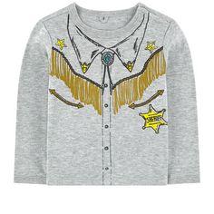 Stella McCartney Kids - Trompe l'oeil organic cotton -shirt - 191887