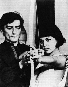1968  Charles Denner et  Jeanne Moreau | La mariée était en noir de François Truffaut