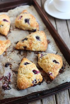 Blueberry Brie Scones