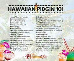 Hawaiian Language and Sayings Aloha Hawaii, Hawaii Life, Hawaii Vacation, Hawaii Travel, Vacation Ideas, Hawaiian Words And Meanings, Hawaiian Phrases, Hawaiian Sayings, All About Hawaii