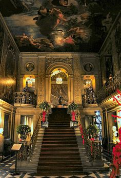 Painted Hall,Chatsworth House