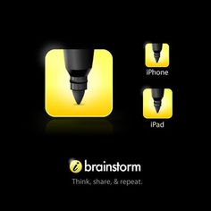 iBrainstorm - a great iOS app for creating brainstorms and collaborating